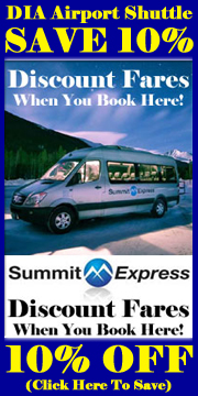 SAVE 10% OFF DIA Airport Shuttle